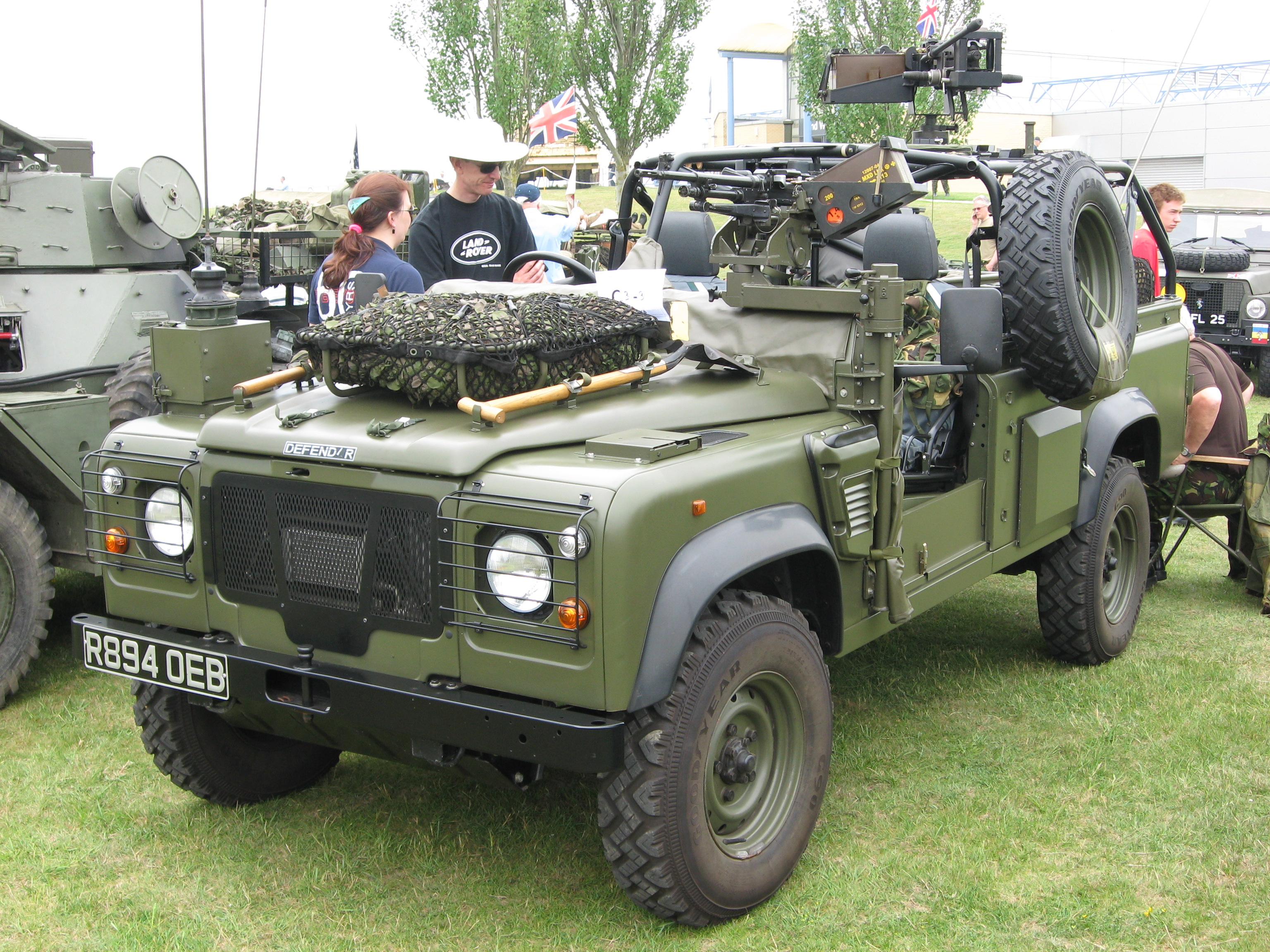 Duxford Military Vehicle Show June 2010 Land Rover