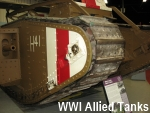 WWI Allied Tanks
