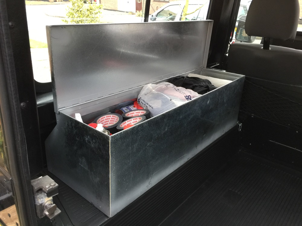 Land Rover Defender 90 Renovation Stowage Box Skarach